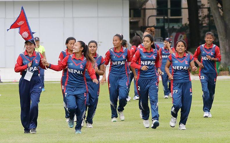 नेपाल आइसिसी महिला टी–२० क्रिकेटको बरियतामा